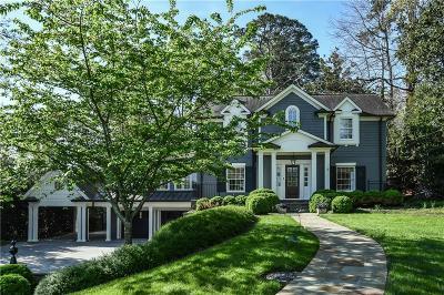 Atlanta Single Family Home For Sale: 19 Brookhaven Drive NE