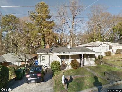 Single Family Home For Sale: 1467 Eason Street NW