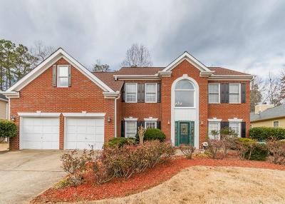 Kennesaw Single Family Home For Sale: 2137 Jockey Hollow Drive NW