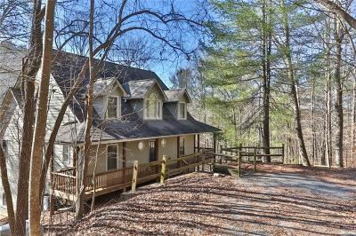 Ellijay Single Family Home For Sale: 340 Cold Stream Court