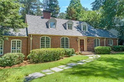 Brookhaven Single Family Home For Sale: 3916 E Brookhaven Drive NE