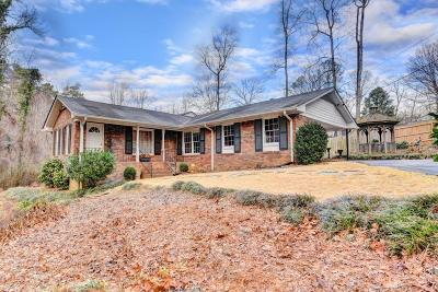 Dunwoody Single Family Home For Sale: 4635 Kings Down Road