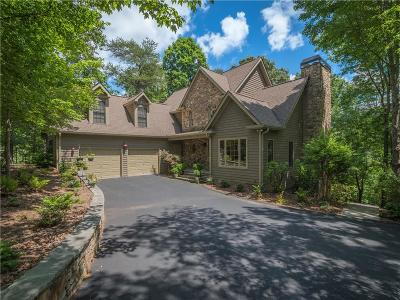 Big Canoe Single Family Home For Sale: 25 Troon Circle