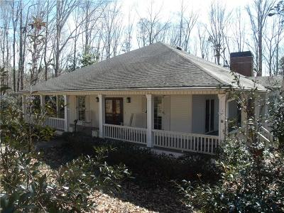 Alpharetta, Milton Single Family Home For Sale: 575 Hickory Flat Road