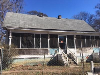 Atlanta GA Multi Family Home For Sale: $75,000