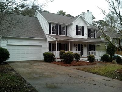 Powder Springs Single Family Home For Sale: 3354 Hannah Court