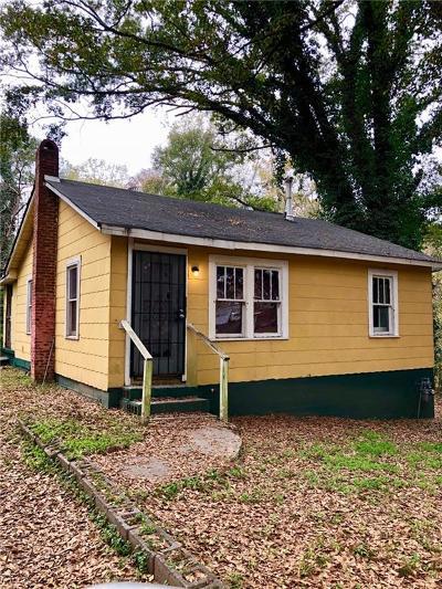 Single Family Home For Sale: 3427 Almand Road SE