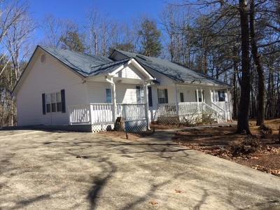 Dahlonega Single Family Home For Sale: 1757 Ben Higgins Road