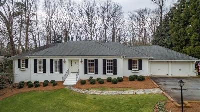 Sandy Springs Single Family Home For Sale: 4730 Merlendale Drive