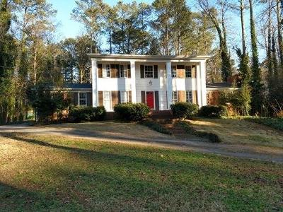 Sandy Springs Single Family Home For Sale: 7309 Twin Branch Road