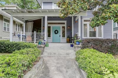 Single Family Home For Sale: 598 Moreland Avenue NE