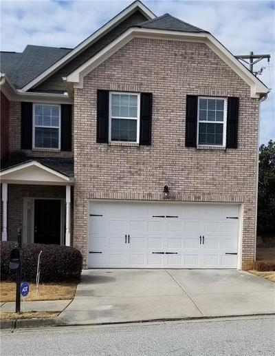 Snellville Condo/Townhouse For Sale: 3053 Open Fields Court
