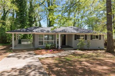Decatur Single Family Home For Sale: 2895 Santa Barbara Drive