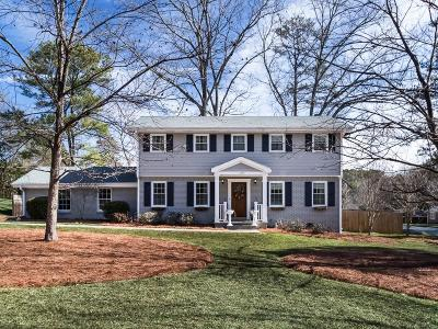 Roswell Single Family Home For Sale: 1195 N Coleman Road