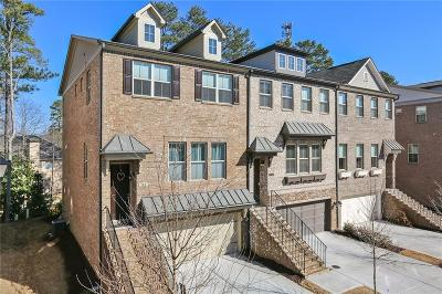 Alpharetta  Condo/Townhouse For Sale: 132 Brindle Lane