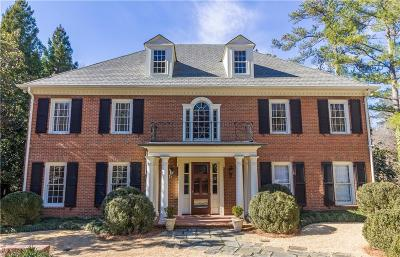 Single Family Home For Sale: 16 Habersham Park NW