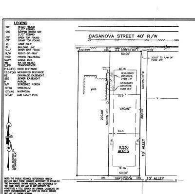 Residential Lots & Land For Sale: Casanova Street SE