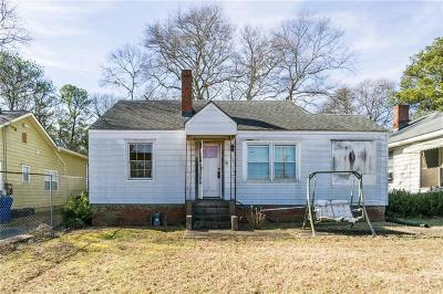 Single Family Home For Sale: 891 Bouldercrest Drive SE