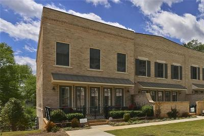 Roswell Condo/Townhouse For Sale: 160 Forrest Alley