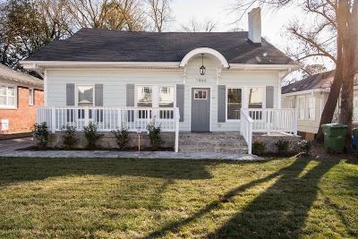 Atlanta Single Family Home For Sale: 1466 Stokes Avenue SW