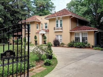 Single Family Home For Sale: 281 W Paces Ferry Road