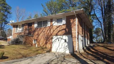 Single Family Home For Sale: 577 Dollar Mill Road SW