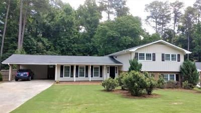 Dunwoody Single Family Home For Sale: 4899 Vermack Road