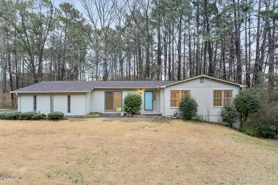 Kennesaw Single Family Home For Sale: 4654 N Springs Road NW