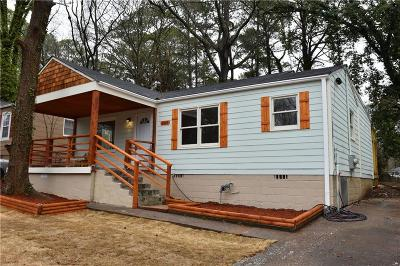 Fulton County Single Family Home For Sale: 269 Moreland Way