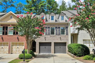 Roswell  Condo/Townhouse For Sale: 2622 Long Pointe
