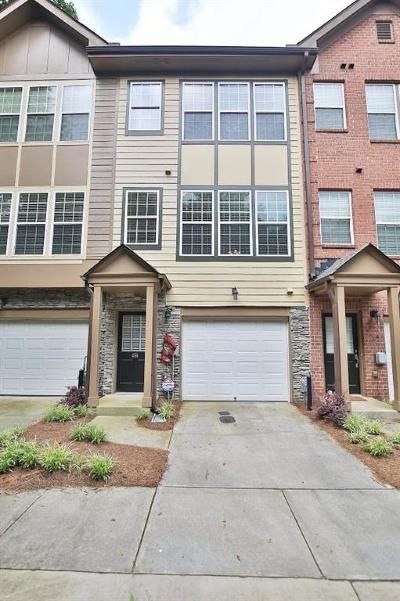Brookhaven Condo/Townhouse For Sale: 3704 Ashford Creek Hill