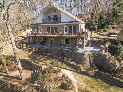 Acworth Single Family Home For Sale: 7459 Island Mill Road SE