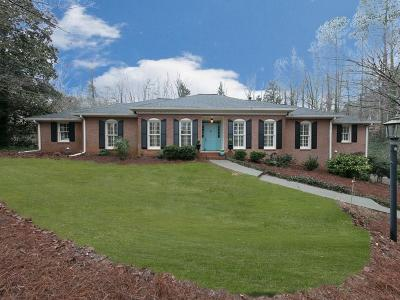 Roswell Single Family Home For Sale: 1870 Ridgefield Drive