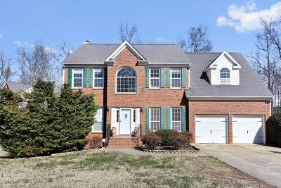 Kennesaw Single Family Home For Sale: 1818 Beckley Place