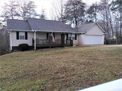 Dahlonega Single Family Home For Sale: 56 Choctaw South Ridge