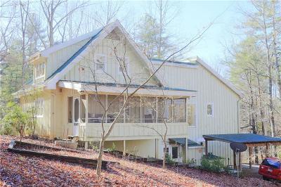 Dahlonega Single Family Home For Sale: 37 Avery Trail