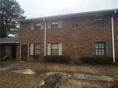 Union City Condo/Townhouse For Sale: 6354 Shannon Parkway