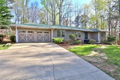 Cumming Single Family Home For Sale: 3405 Twin Branches Road