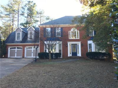 Acworth Single Family Home For Sale: 5877 Brookstone Knoll NW