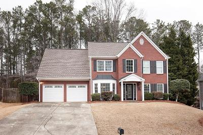 Acworth Single Family Home For Sale: 4417 Singletree Way NW