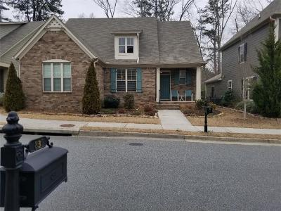 Marietta Single Family Home For Sale: 834 Rockford Commons Drive SE
