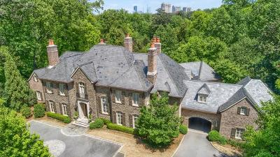Atlanta GA Single Family Home For Sale: $8,500,000
