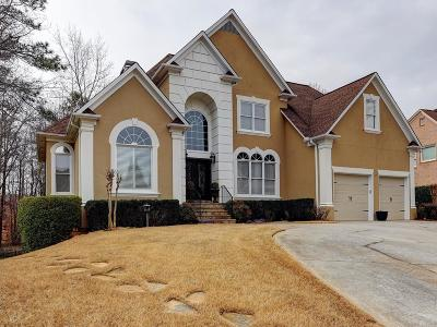 Roswell Single Family Home For Sale: 4660 Warrington Drive NE