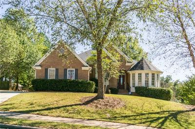 Kennesaw Single Family Home For Sale: 3510 Brandywine Road NW