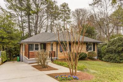 Atlanta Single Family Home For Sale: 1280 Mayfair Drive NE