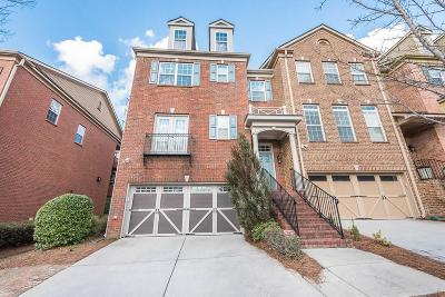 Alpharetta  Condo/Townhouse For Sale: 3840 Fairhill Point