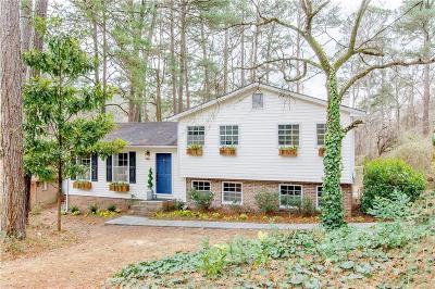 Smyrna Single Family Home For Sale: 5160 Thistle Road SE
