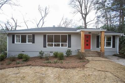 Brookhaven Single Family Home For Sale: 1343 Victor Road NE
