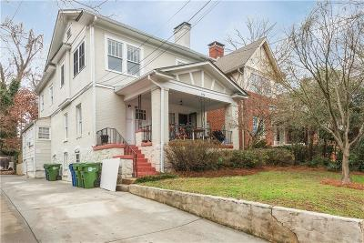 Atlanta Multi Family Home For Sale: 594 Seminole Avenue NE