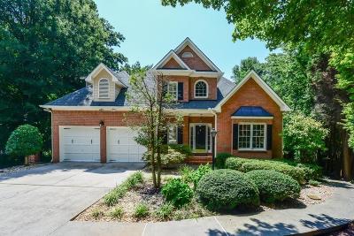 Sandy Springs Single Family Home For Sale: 510 Montrose Lane